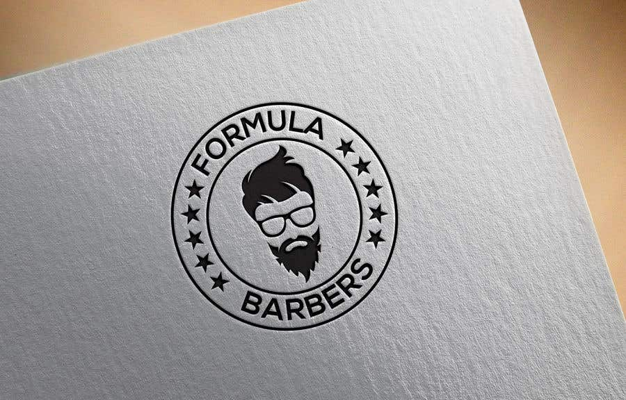 Inscrição nº 151 do Concurso para Logo and graphic design for Formula Barbers