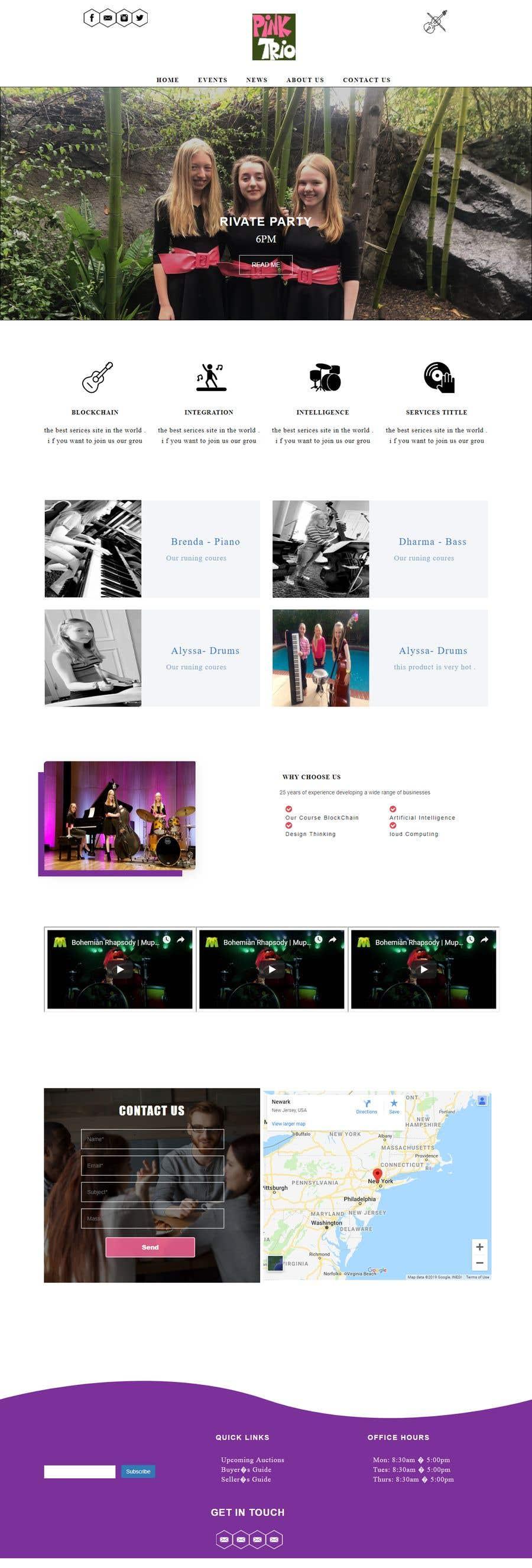 Kilpailutyö #5 kilpailussa Build me a website!!
