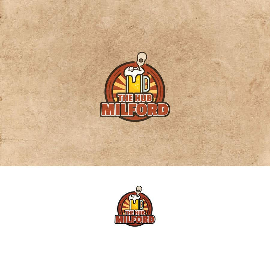 Конкурсная заявка №12 для local pub/bar logo