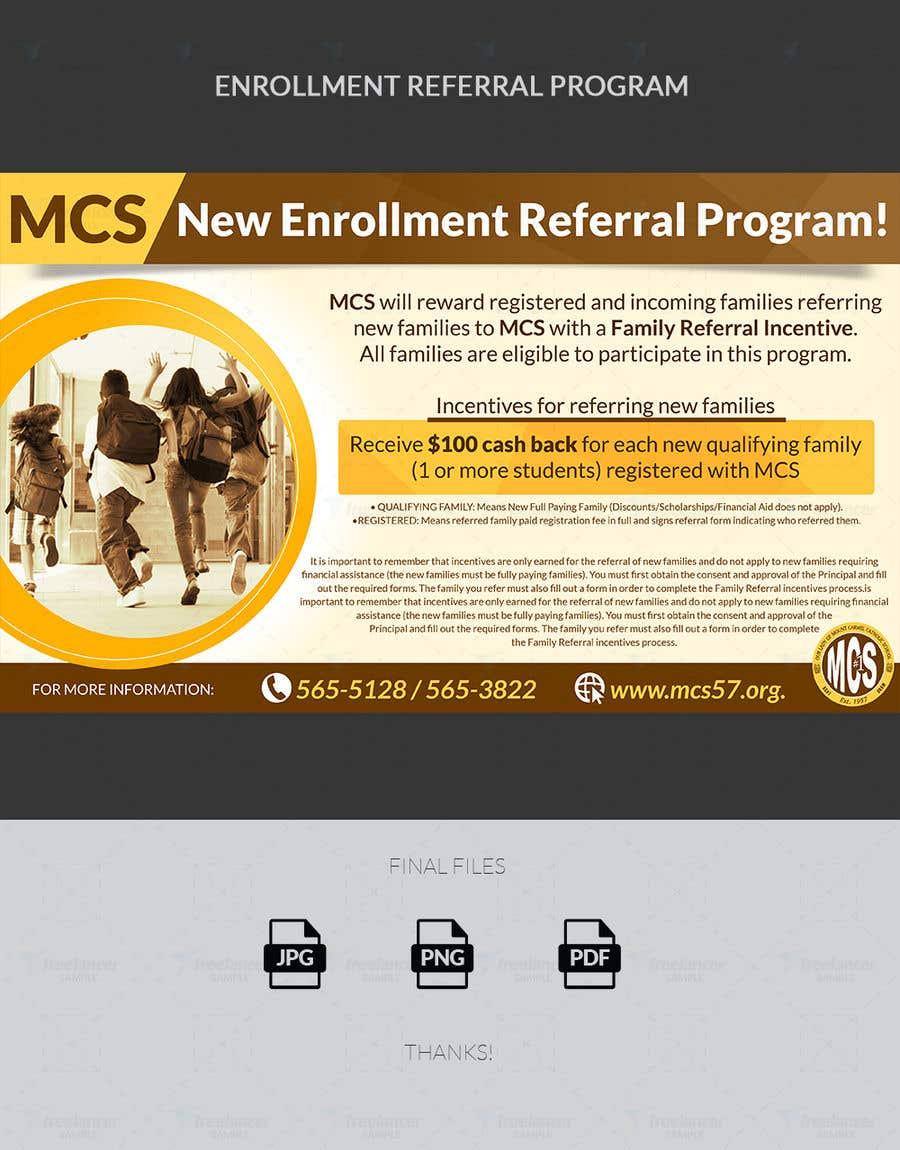 Enrollment Referral Program | Freelancer