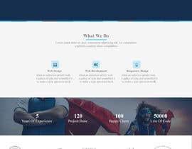 #28 для Landingpage for webdesign agency от Mejba2004