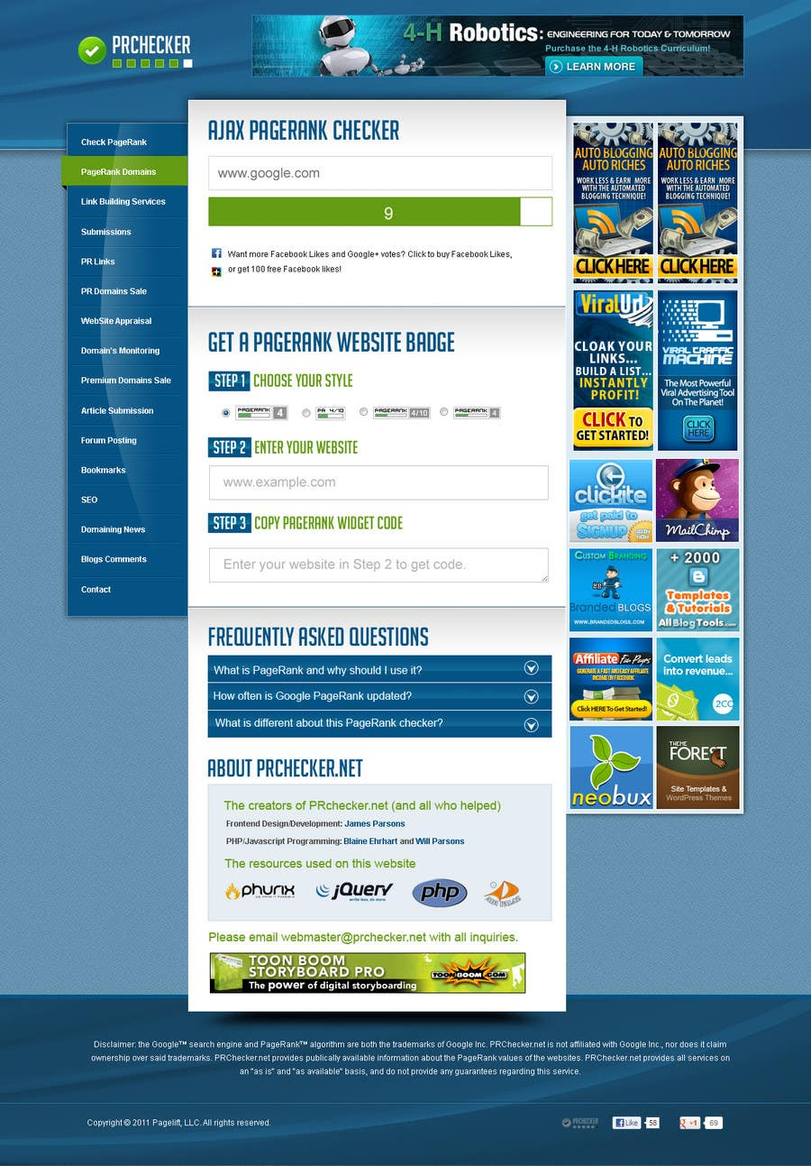 Contest Entry #22 for Website Design for SEO Website