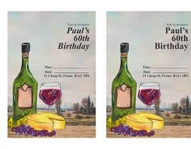 Nro 40 kilpailuun Invitation Template for Birthday Party käyttäjältä ItzNexy