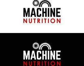 #48 for Logo, com o nome MACHINE NUTRITION af andreschacon218