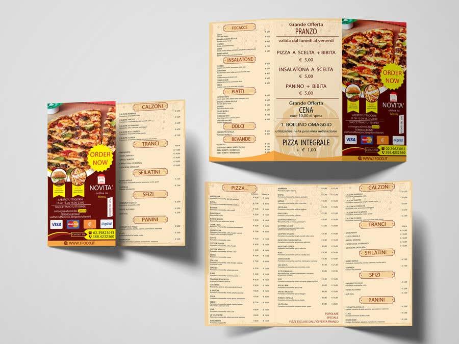 Penyertaan Peraduan #8 untuk flyer for restaurant