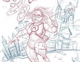 #16 untuk Cartoon digital painting of my best friend in Superhero mode oleh zuart
