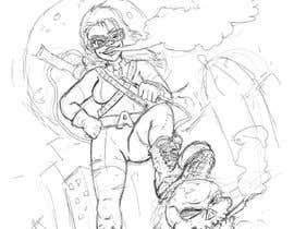 #15 untuk Cartoon digital painting of my best friend in Superhero mode oleh oreosan