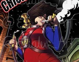 #25 for Cartoon digital painting of my best friend in Superhero mode af elialex