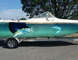 #2 для Design Boat Wrap / Graphics от MBEST123