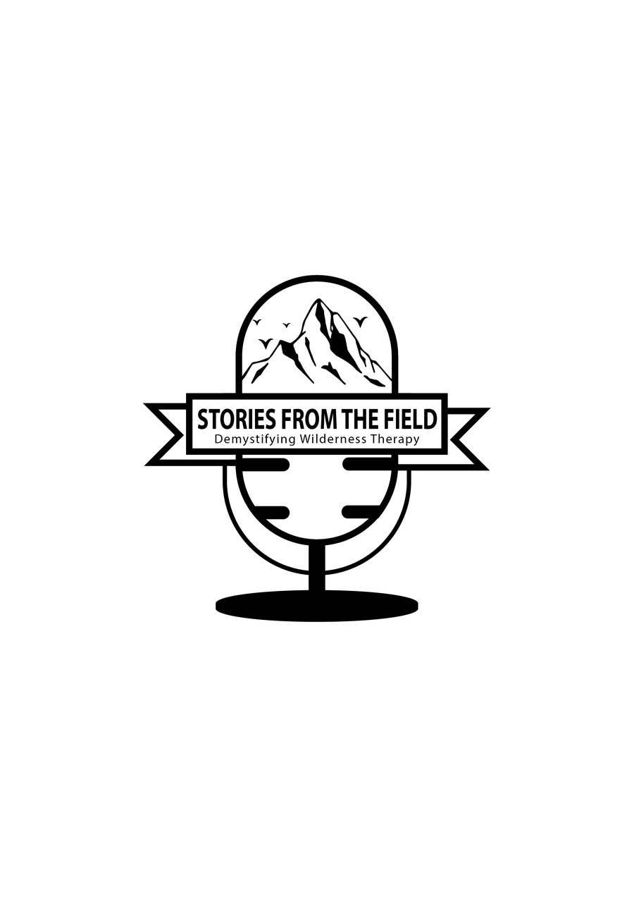 Konkurrenceindlæg #178 for design a logo for podcast Stories from the field: Demystifying Wilderness Therapy