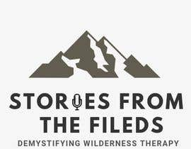 YashAgrawal2497 tarafından design a logo for podcast Stories from the field: Demystifying Wilderness Therapy için no 504