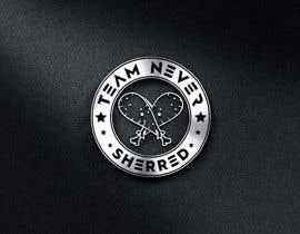 #45 untuk TEAM NEVER SHREDDED LOGO oleh designx47