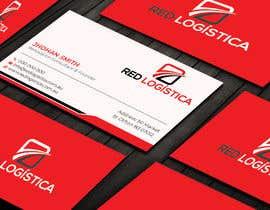 #103 untuk Bussiness Card Red Logistica oleh pritishsarker