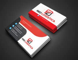 #95 for Bussiness Card Red Logistica by ahosanshamim