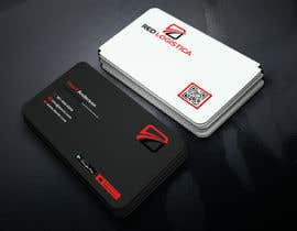 #98 for Bussiness Card Red Logistica by mahedihasan08