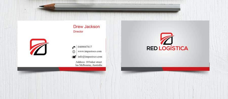 Contest Entry #90 for Bussiness Card Red Logistica