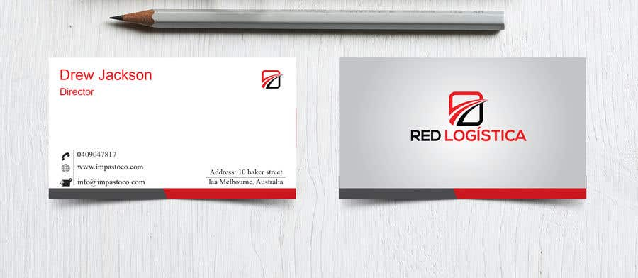 Contest Entry #91 for Bussiness Card Red Logistica