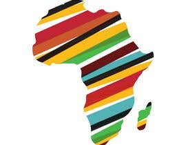 nº 8 pour A high quality Logo of Africa containing the colours red,gold and green par DesignerZ506