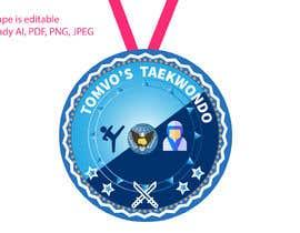 #29 for Martial Art Medals (tournament) af Designzone143