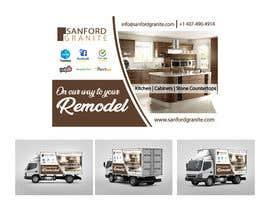 #18 para Vehicle Wrap Design for Kitchen Remodel por dilanronaldo
