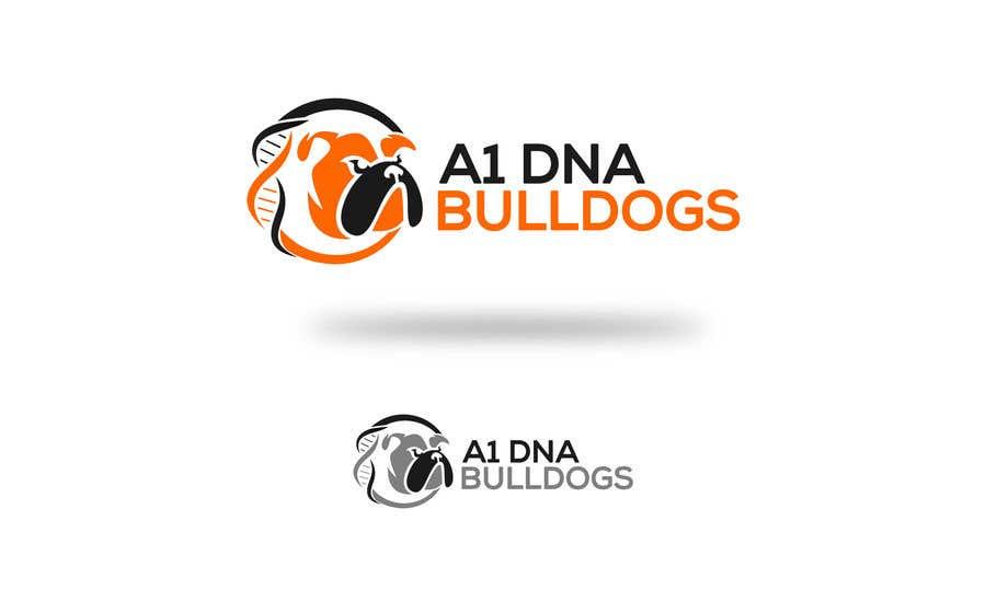 Kilpailutyö #39 kilpailussa Logo for French and English bulldog breeder