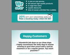 #83 για Design a Flyer for dog grooming business από mylogodesign1990