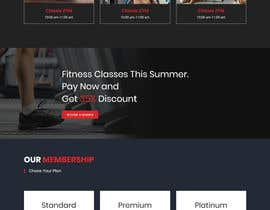 #20 for Redesign Fitness7xL.com by akterfr