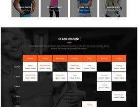 #21 for Redesign Fitness7xL.com by emuict