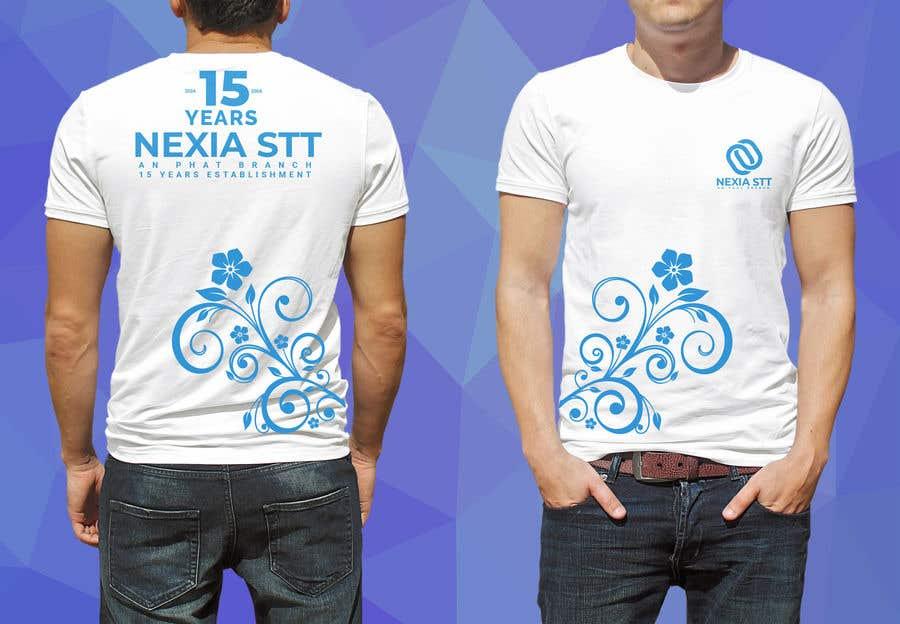 Конкурсная заявка №45 для Design T-shirt both side