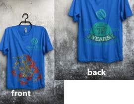 Nro 39 kilpailuun Design T-shirt both side käyttäjältä graphicsword