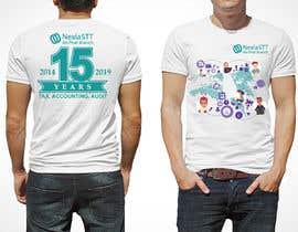 Nro 60 kilpailuun Design T-shirt both side käyttäjältä voltes098
