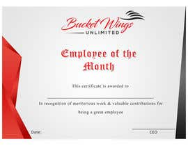 #8 for Employee of the month by thewise217