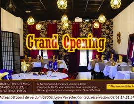 #36 cho Make a flyer for a restaurant bởi meenapatwal