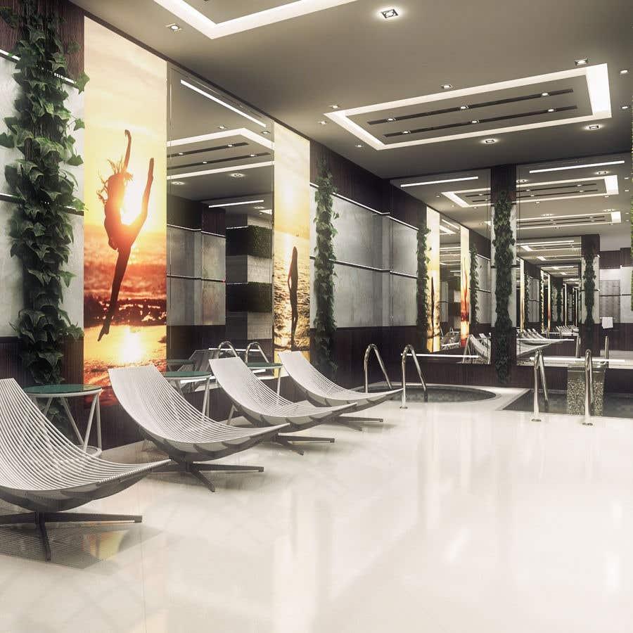 Конкурсная заявка №16 для 3D rendering for a Hotel's SPA
