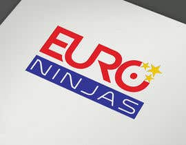 #304 for Design Euro Ninjas Logo by Shuvomonisha