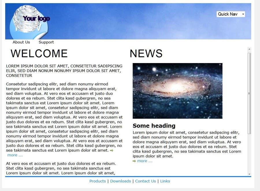 Penyertaan Peraduan #                                        15                                      untuk                                         Creative Landing Page Design