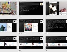 #38 para Powerpoint Presentation for Artist using Instagram for growth por yassinemouhli98