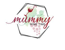 #16 untuk Change shape to a wine glass. Font must be elegant and sexy. This logo is representing the strength of women oleh flyhy