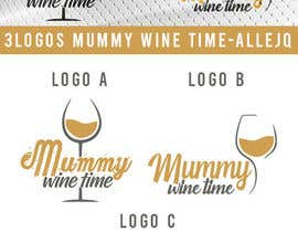 #11 untuk Change shape to a wine glass. Font must be elegant and sexy. This logo is representing the strength of women oleh allejq99