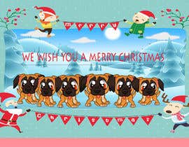 #12 for Christmas cards with comical mischievous boxer puppies . by saharwaris1