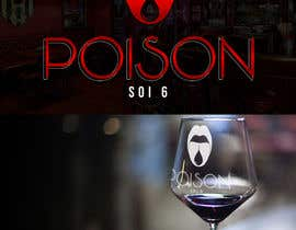 #31 for Redesign this logo and cover for Poison Bar af maridepauladias
