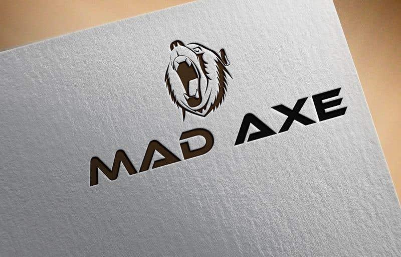 Kilpailutyö #362 kilpailussa Logo design for Mad Axe