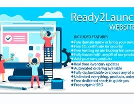 #25 for Create a 1600 pixel wide banner created to promote our Ready2Launch Websites by emastojanovska
