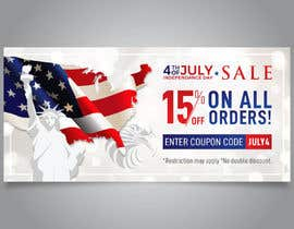 #165 for 4th Of july banner by Vidyapathi