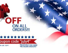 #146 pentru 4th Of july banner de către PixelDesign24