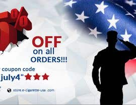 #148 for 4th Of july banner by PixelDesign24