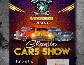 #24 para Design a poster and flyer for a Car Show por lunaticscreative