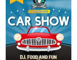 #44 para Design a poster and flyer for a Car Show por aatir2