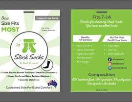 nº 15 pour Design a Hang Tag For Socks par akashsahaoo7