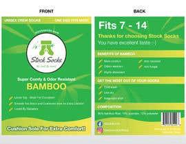 nº 17 pour Design a Hang Tag For Socks par renz2907